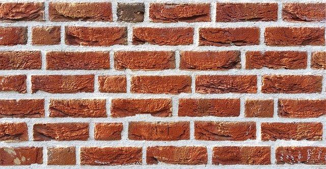 A wall made of bricks