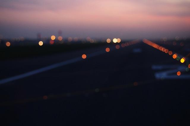 A blurry runaway