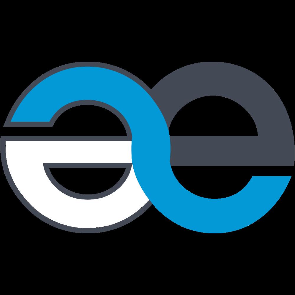 """Caractère """"e dans l'a"""" logo minimaliste de Naept"""