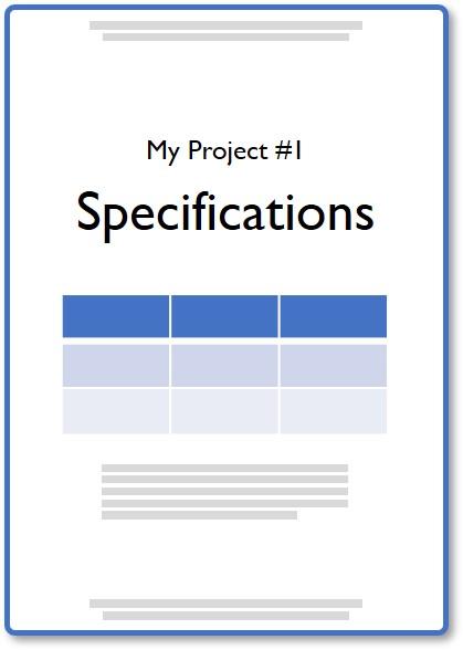 Document de spécification