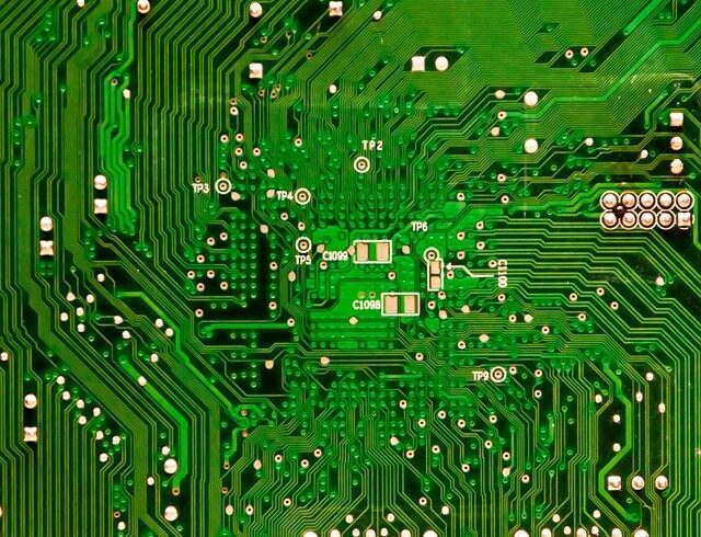 Circuit imprimé vert