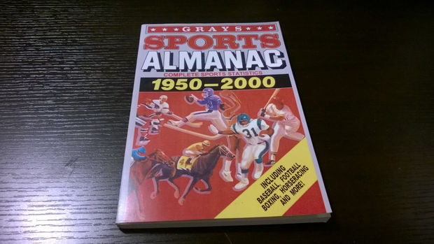 Back to the future part 2 Sports Almanach