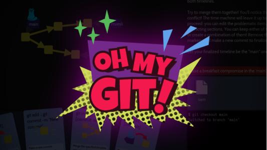 Oh My Git logo